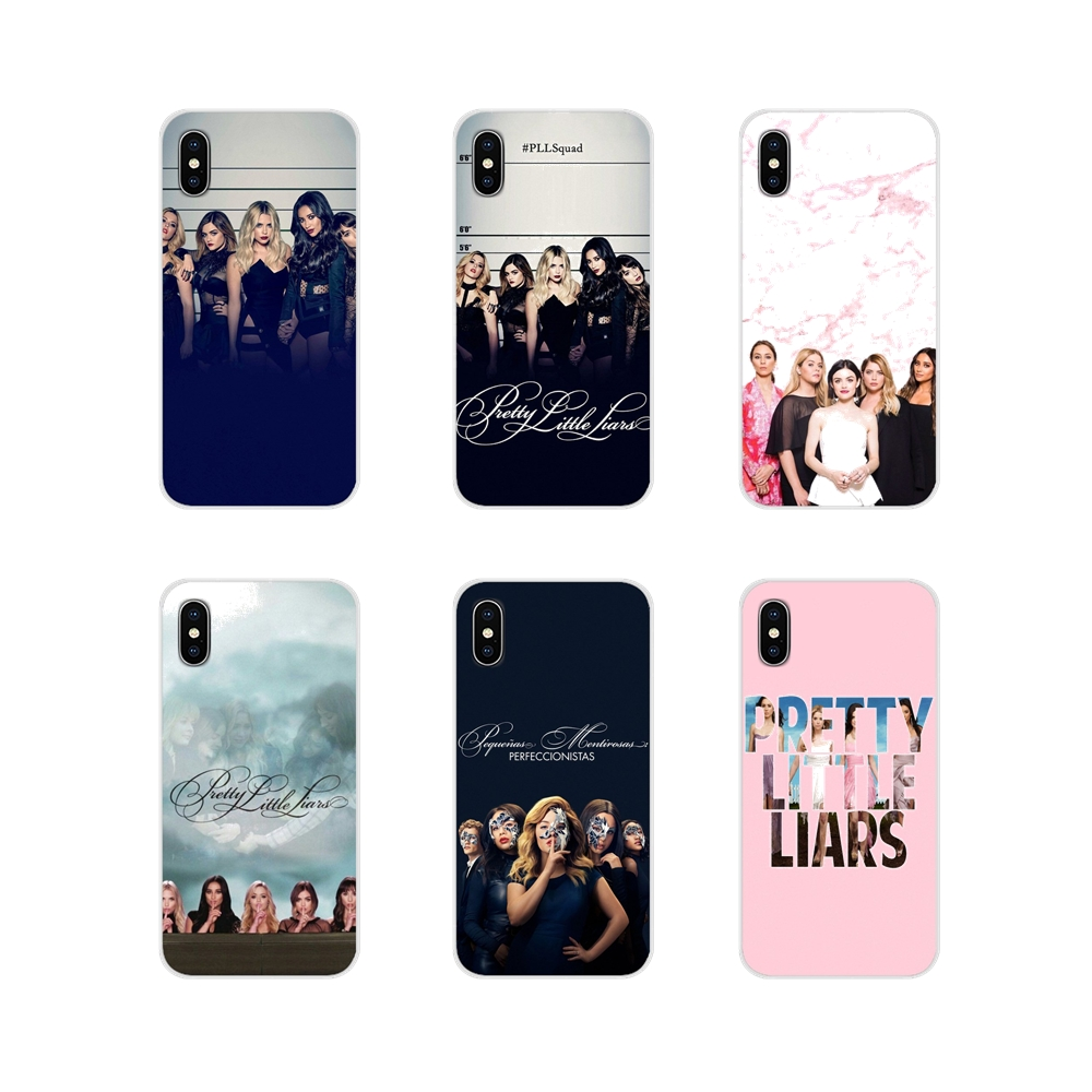 Pretty Little Liars Accessories Phone Cases Covers For Apple iPhone X XR XS 11Pro MAX 4S 5S 5C SE 6S 7 8 Plus ipod touch 5 6