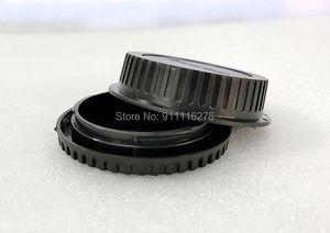 Image 1 - 10pcs/ SLR camera body cap rear lens cap front cover for Canon for Nikon