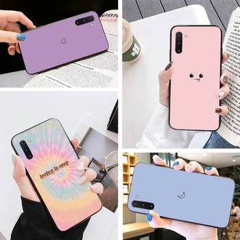 Cartoon Strawberry Flavor Phone Case For Samsung Note3 4 5 8 9 10 10Lite M10 20 30 A70 Case Holder Phone Cases image