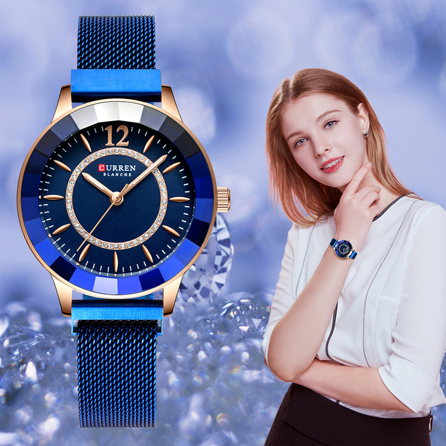 Glamorous Stainless Steel Watch