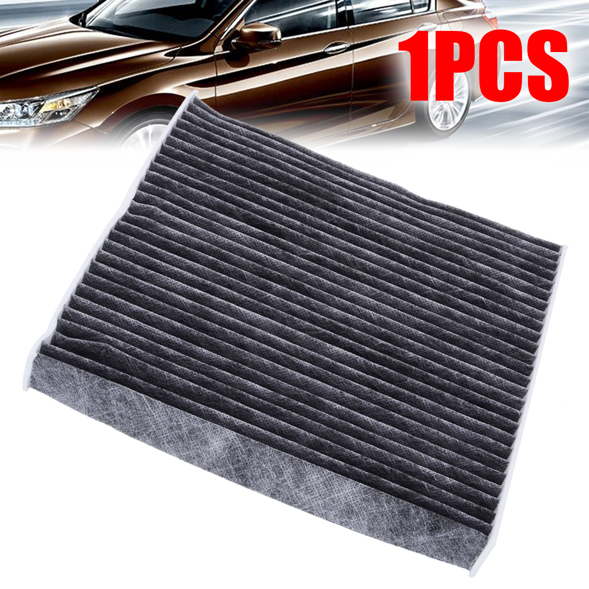 1pc Cabin Fiber Air Filter Non-woven 80292-TZ5-A41 For Honda Accord Civic CRV Odyssey Pilot