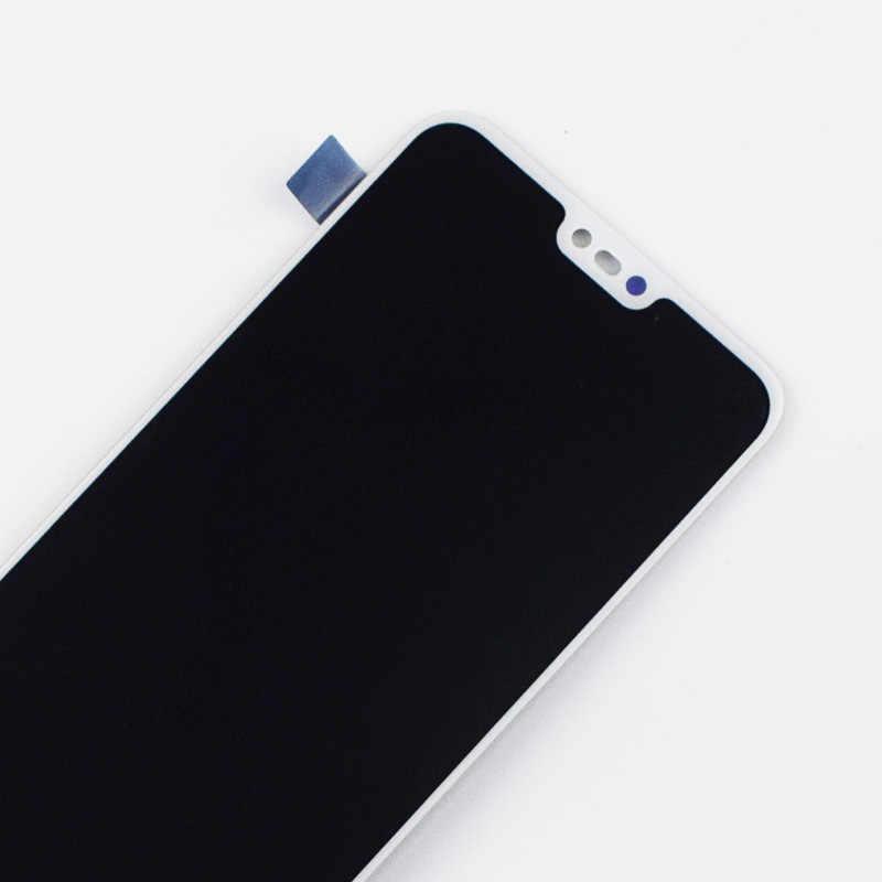 LCD لهواوي الشرف 10 COL-L29 شاشة الكريستال السائل وحدة ألواح شمسية محول الأرقام بشاشة تعمل بلمس الاستشعار الجمعية لا بصمة
