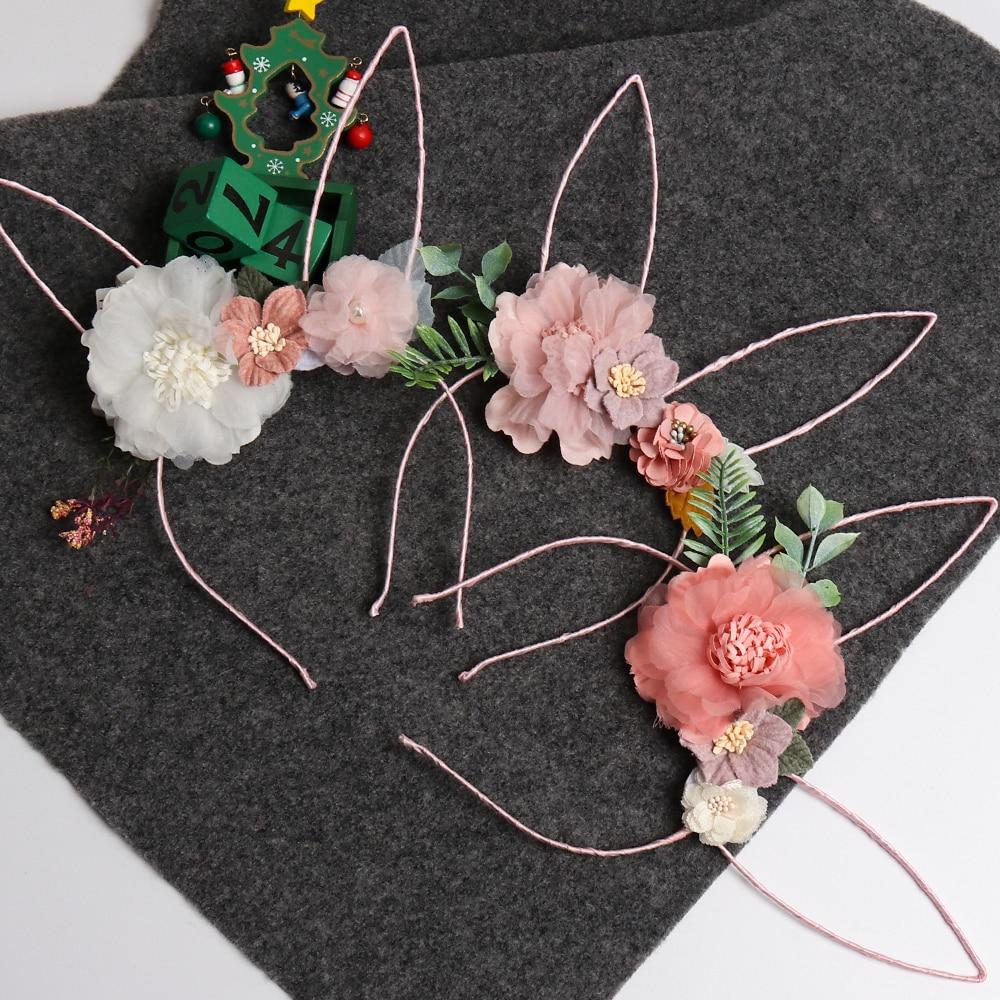 Rose Noir Bunny Rabbit Ears Bandeau ALICEBAND Déguisement Enterrement Vie Jeune Fille Pâques UK