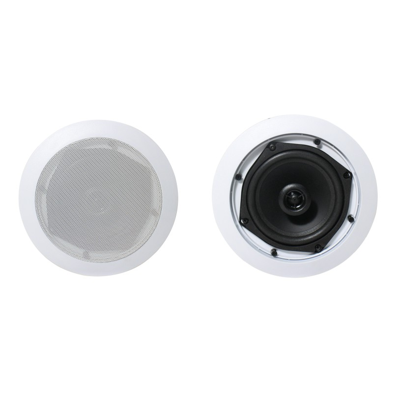 Wireless Bluetooth Ceiling Speaker pair Full Range 2*15W Active 5'' woofer and 1'' tweeter,support line in Home audio 315106