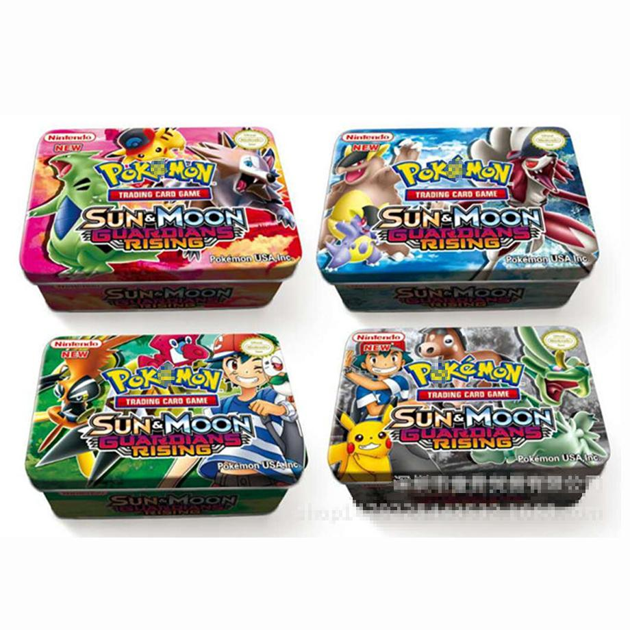 42PCS/BOX SUN&MOON TEAM UP GX MEGA Pokemon Shining Card Game Battle Carte Trading Cards Game Children Pokemons Toys For Children