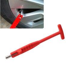 Vástago de válvula de tubo Extractor de neumáticos, herramientas de reparación de neumáticos de Metal, vástago de válvula Core, removedor de coche y motocicleta, envío directo