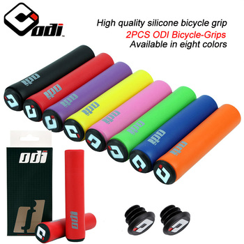 2PCS Silicone Cycling Bicycle Grips Mountain Road Bike MTB Handlebar Cover Grips Bicycle Accessories Anti-slip Bike Grip Cover 1