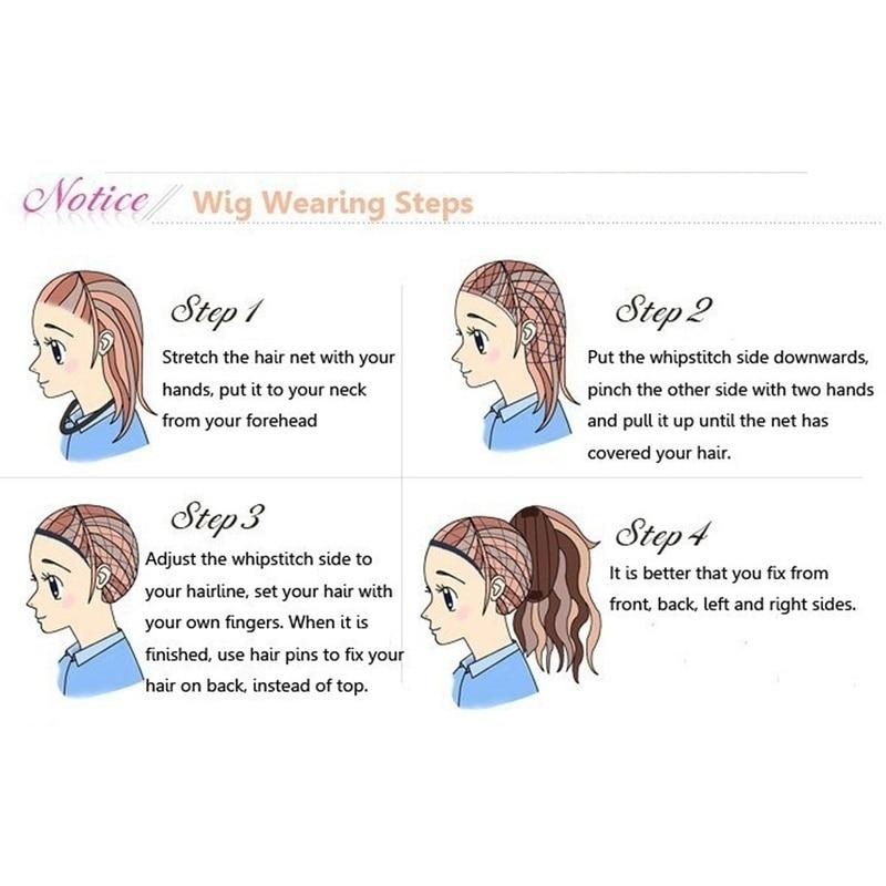 perucas de cabelo feminino resistente ao calor