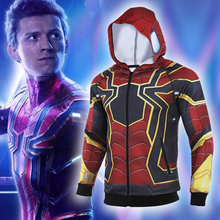Avengers4  Endgame Iron Spiderman 2019 New 3D Compression Shirt HD original hand drawing Cosplay coat