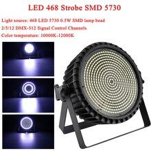 Sound Activated Party Light Strobes DMX512 Par Light 1250W White LED Stage Lighting Christmas DJ Disco Club Home KTV Party Bar стоимость