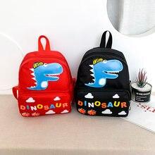Детский Школьный рюкзак с принтом в виде динозавров для мальчиков