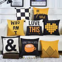 Cojines Sofa waist Cushion Cover Pillow 30x50/40x40/45x45/40x60/50x50/55x55/60x60cm Cheaper Decorative Throw Pillowcase for Home