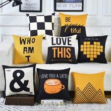 Cojines sofá funda de cojín para cintura almohada 30x5 0/40x4 0/45x4 5/40x6 0/50x5 0/55x5 5/60x60cm más barato decorativo tiro almohada para la casa