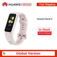 Original Huawei Band 4 Smart Wristband 0.95'' AMOLED Colorfull Screen Heart Rate tracking Sleep tracking Activity reminder