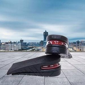High Quality 3-6cm Height Increase Insole Cushion Height Lift Adjustable Cut Shoe Heel Insert Taller Women Men Unisex Foot Pads