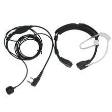 Flexible Neck Microphone Mic Hidden Acoustic Tube Earpiece Earphone For Baofeng QUANSHE WOUXUN NG Headset TK Radio Walkie Talkie