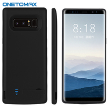 For Samsung Note8 6500mAh Phone Battery Case Powerbank Cases For Samsung Galaxy Note 8 External Battery Charger Case Spare Power
