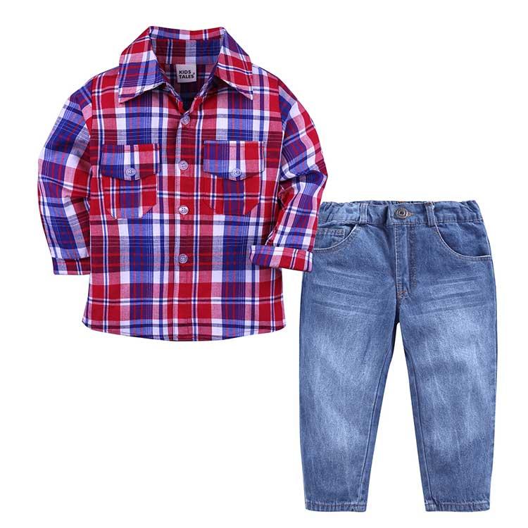 Primavera outono crianças meninos roupas ternos primavera