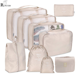 9 pieces Set Travel Organizer