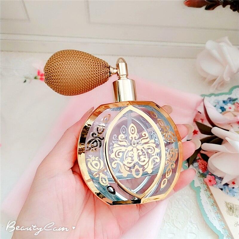 garrafa de perfume moda luxo cristal garrafa