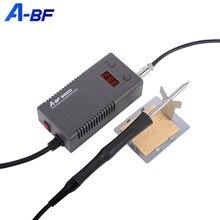 A-BF 950D микро паяльная станция 50 Вт русский склад, мини Интеллектуальный Электрический паяльник, наладочная станция с быстрым нагревом