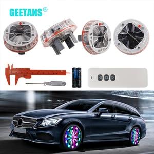 GGEETANS 4PCS Car Styling Tire