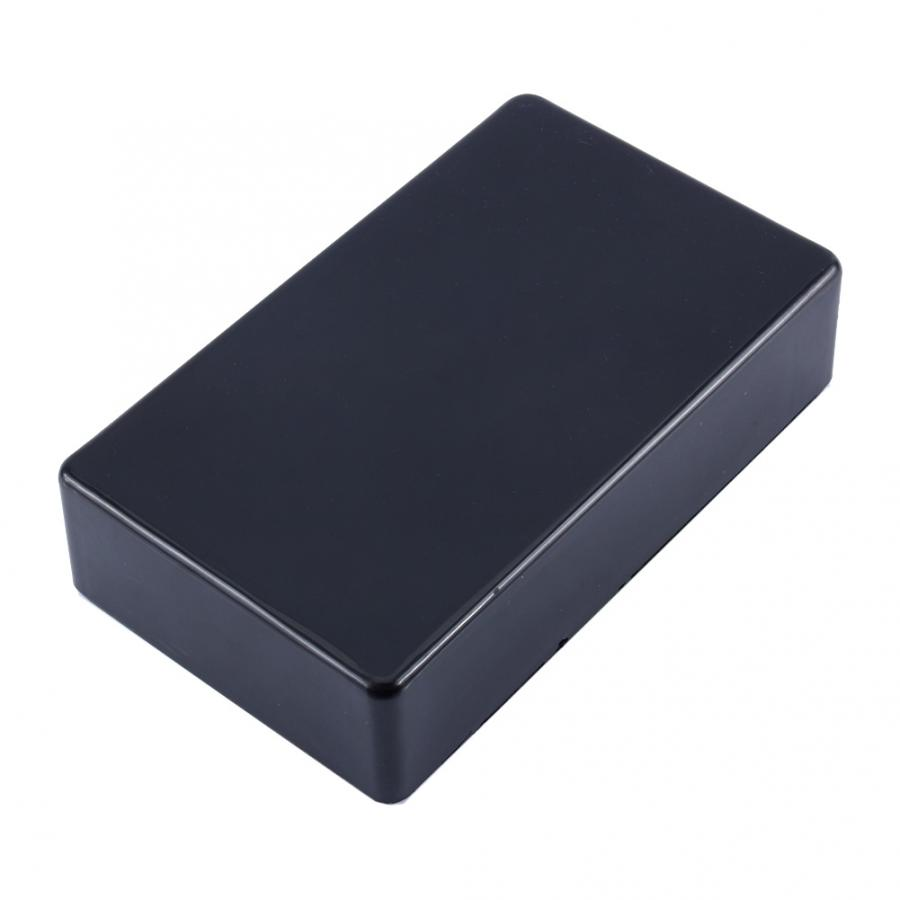 Plastic Waterproof Cover Electronic Project Instrument Enclosure DIY Box Case Junction Box Housing 100 X 60 X 25 Mm Black