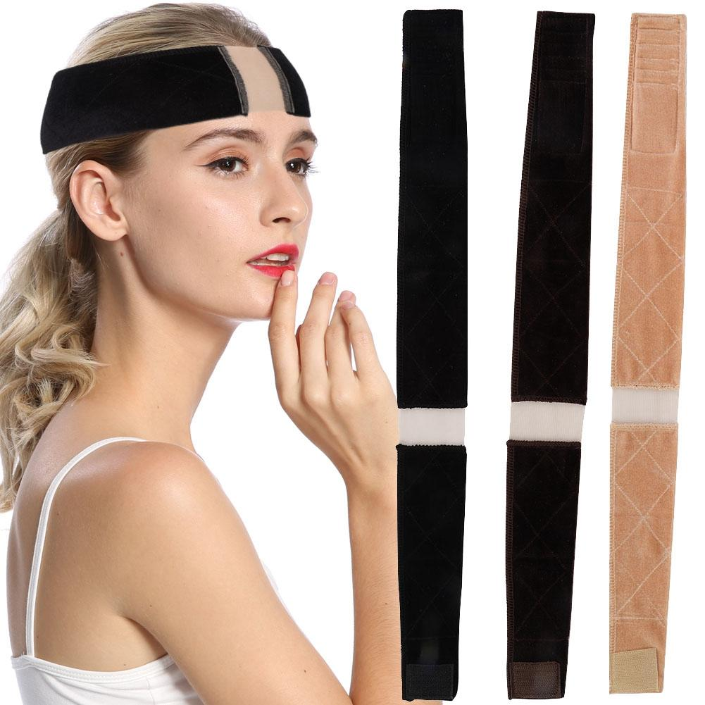Female Non Slip Lace Wig Grip Band Adjustable Comfortable Velvet Headband Hair Scarf Gift Wig Hair Band Headband Wig Accessories
