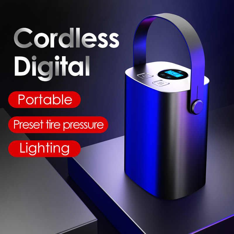Pompa DellAria Portatile Per Auto Pompa Wireless Intelligente 12V