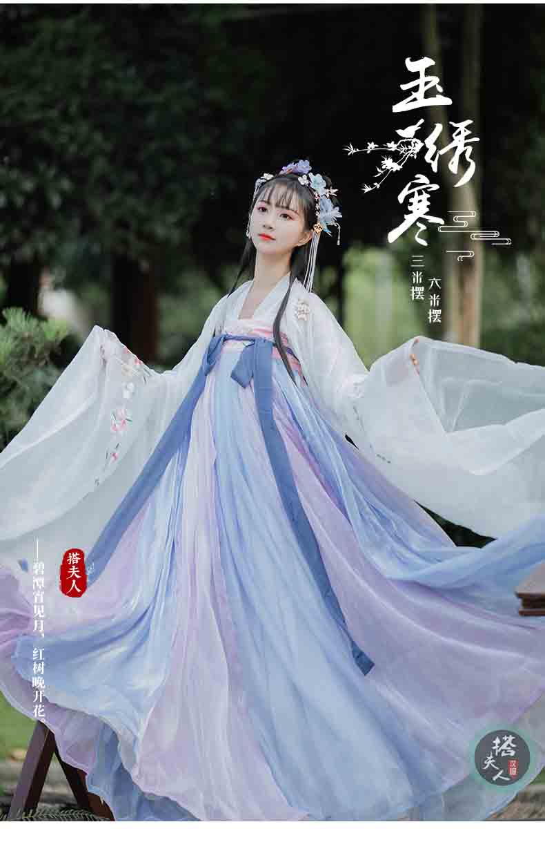 Hanfu Women Chinese Ancient Tradition Vintage Hanfu Dress Fantasia Women Carnival Cosplay Costume Outfit For Lady Plus Size