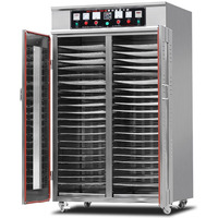 commercial 40 layer food dehydrator 220v stainless steel vegetable fruit dryer machine sausage meat tea pepper drying machine