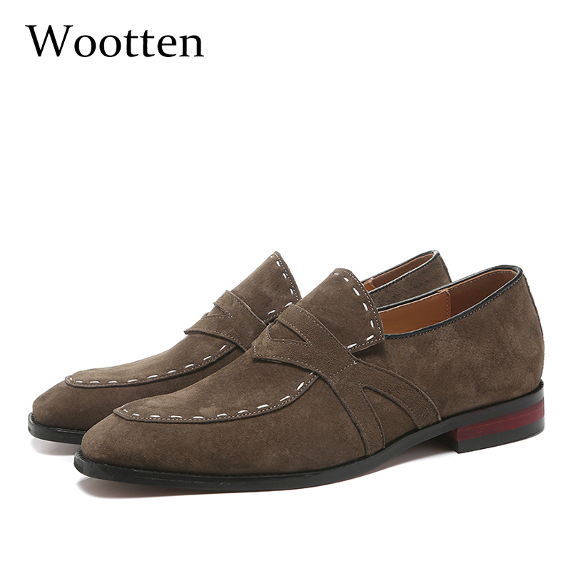 37-48 men shoes casual moccasins Breathable fashion elegant Plus Size Brand Comfortable luxury classic loafers men #QM21