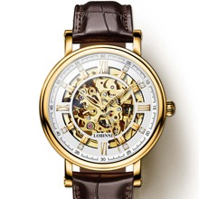 Japan Miyota Movement Watch Men LOBINNI Automatic Mechanical Watches Luxury Brand Tourbillon Skeleton relogio masculin 9010M