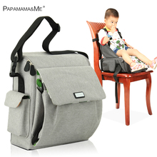 3 in1 Papame Mummy bag  seat pad portable folding dining chair