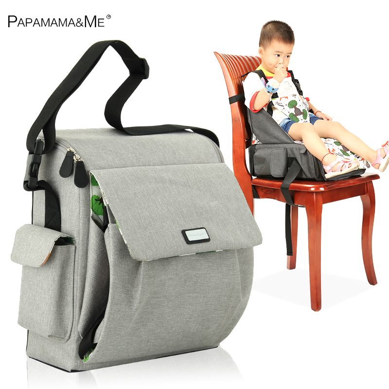 3 in1 Papame momie sac siège pad portable chaise pliante à manger