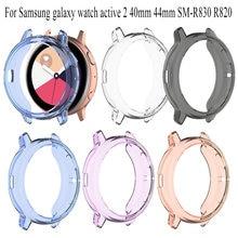 Мягкий ТПУ силиконовый защитный чехол для samsung galaxy watch