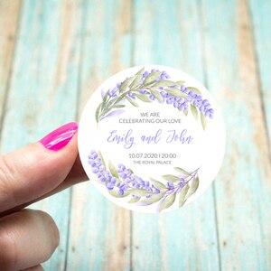 Пользовательский логотип, наклейка на свадьбу, день рождения, вечеринку, индивидуальный дизайн, ваша этикетка, Подарочная коробка, печать д...