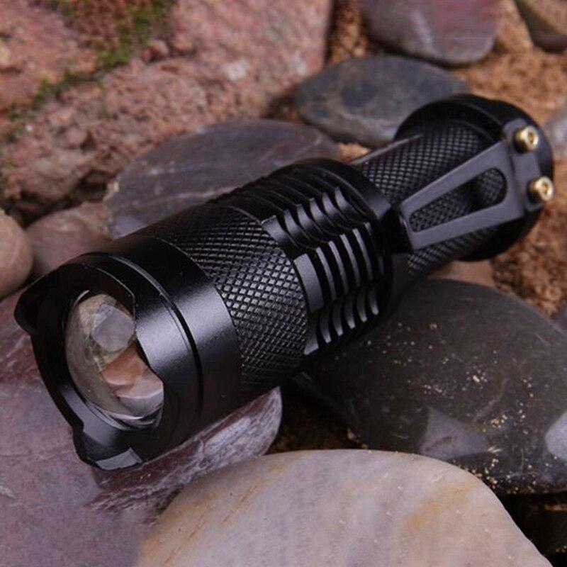 Мини мощный светодиод фонарик портативный сильный свет алюминий сплав фонарик с зажимом карман фонарик для дайвинга пеших прогулок охоты