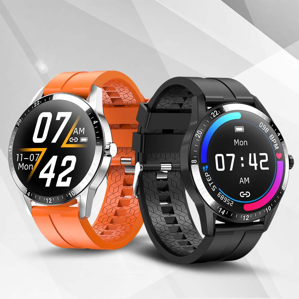 Bakeey G20 HD Full Touch Wristband Heart Rate Blood Pressure Sleep Monitor IP67 Smart Watch bluetooth Calling Fashion Fitness