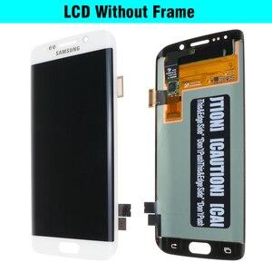 Image 4 - מקורי 5.1 החלפת סופר AMOLED תצוגה עבור SAMSUNG Galaxy s6 קצה G925 G925F G925I LCD Digitizer עצרת עם מסגרת
