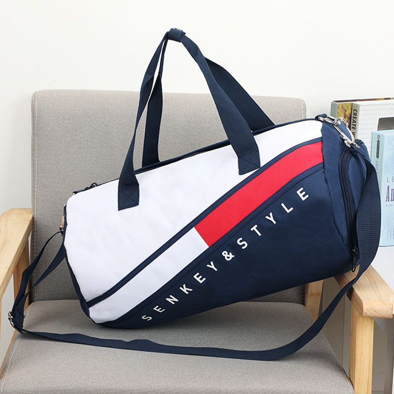 New Men Gym Bags For Fitness Training Outdoor Travel Sport Bag Shoes Pocket Multifunction Dry Wet Separation Bags Sac De Sport