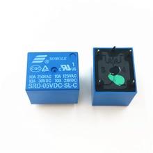 цена на Relay SRD-05VDC-SL-C SRD-09VDC-SL-C SRD-12VDC-SL-C SRD-24VDC-SL-C 5PINS 5V 9V 6V 24V 12V High-quality 10A 250VA