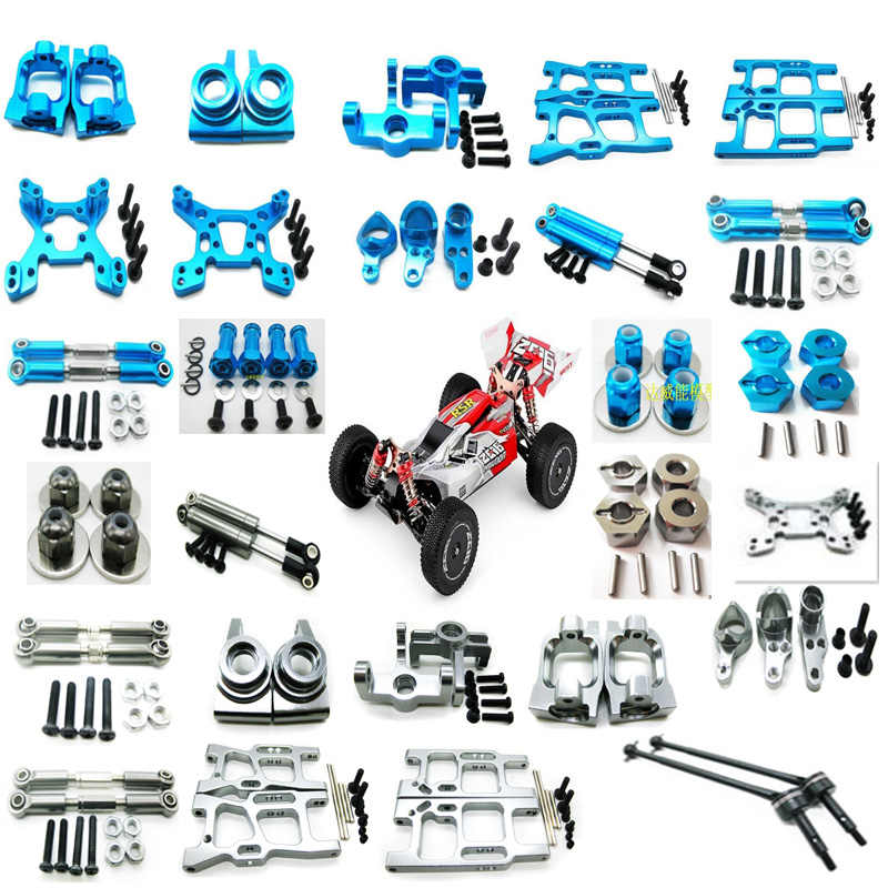 Upgrade Metal C Seat Set Part For WLtoys 144001 1//14 4WD Off Road RC Car UK