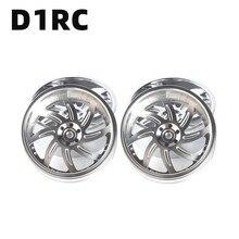 4 pièces/LotD1RC 3.2 pouces RC1:10 1:8 Rock Crawler Beadlock jante de roue pour Traxxas TRX 4 TRX4 RC4WD D90 D110 TF2 axiale SCX10 90046