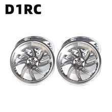 4Pieces/LotD1RC 3.2 Inch RC1:10 1:8 Rock Crawler Beadlock Wheel Rim For Traxxas TRX 4 TRX4 RC4WD D90 D110 TF2 Axial SCX10 90046