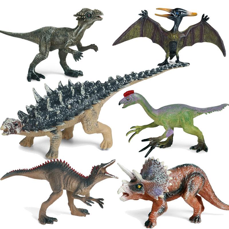 Большой Размеры Брахиозавра из фильма «Парк Юрского периода»; Парк игрушка-динозавр мягкого ПВХ фигурки ручной животных модель обучающих и...