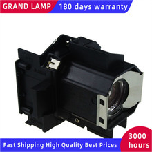 GRAND ELPLP39 V13H010L39 Lampe De Rechange Avec Boîtier Pour EMP TW700 EMP TW1000 EMP TW2000 EMP TW980
