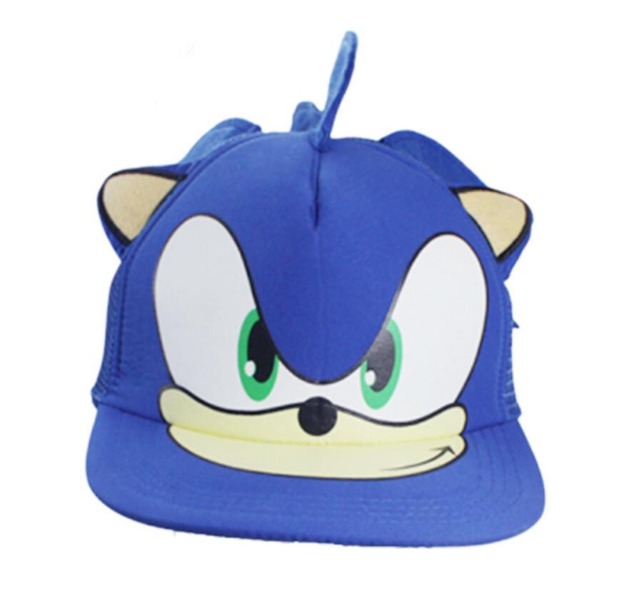 Sonic The Hedgehog Hat Anime Cap Baseball Hat Cosplay Prop Red Black Boys Costume Accessories Aliexpress
