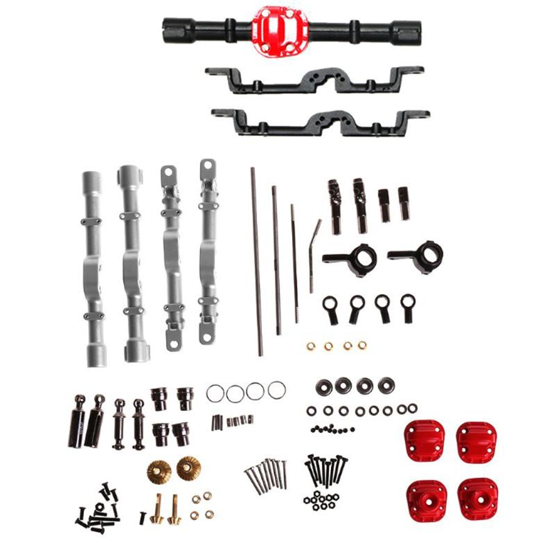 MN Model 1:12 D90 D91 4x4  Front Rear RC Car Spare Parts Upgrade Metal Axle Housing Replacement Accessories 72XC
