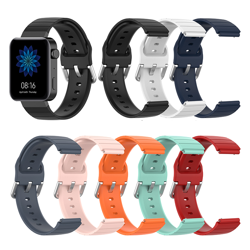 For Xiaomi Mi Smart Watch 2019 Bracelet Silicone Strap Watch Band For Xiaomi Mi 2019 Belt Replacement  Accessories Pulseira Band